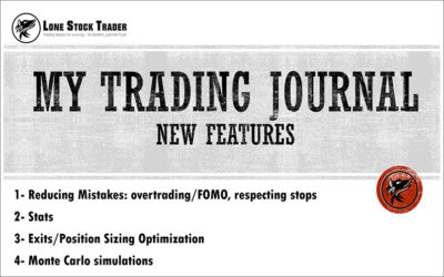 My Trading Journal – New Features